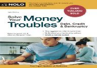 [+][PDF] TOP TREND Solve Your Money Troubles: Debt, Credit   Bankruptcy  [FREE]