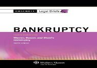 [+][PDF] TOP TREND Bankruptcy: Warren Bussell   Skeel 9e (Casenote Legal Briefs)  [DOWNLOAD]