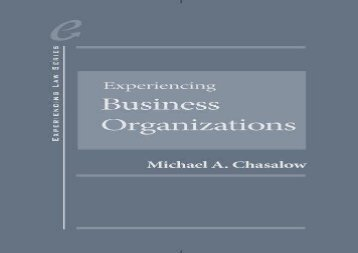 [+][PDF] TOP TREND Experiencing Business Organizations (Experiencing Series)  [DOWNLOAD]