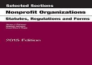 [+][PDF] TOP TREND Selected Sections on Nonprofit Organizations, Statutes, Regulations, and Forms (Selected Statutes) [PDF]