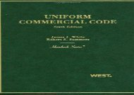 [+]The best book of the month Uniform Commercial Code (Hornbook) [PDF]