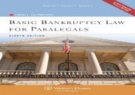[+]The best book of the month Basic Bankruptcy Law for Paralegals [With CDROM] (Aspen College) [PDF]