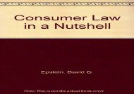 [+]The best book of the month Consumer Law in a Nutshell  [FREE]