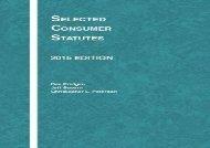[+][PDF] TOP TREND Selected Consumer Statutes (Selected Statutes)  [READ]
