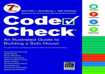 [+]The best book of the month Code Check: 7th Edition (Code Check: An Illustrated Guide to Building a Safe House)  [READ]