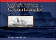 [+][PDF] TOP TREND Concepts and Case Analysis in the Law of Contracts (Concepts and Insights)  [READ]