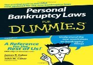 [+][PDF] TOP TREND Personal Bankruptcy Laws For Dummies  [NEWS]