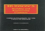 [+][PDF] TOP TREND Hudson s Building and Engineering Contracts 3rd Supplement  [FREE]