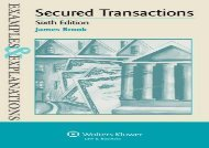 [+][PDF] TOP TREND Examples   Explanations for Secured Transactions  [READ]