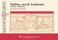 [+]The best book of the month Examples   Explanations: Sales and Leases, 6th Edition  [FREE]