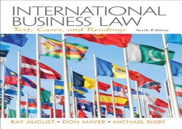 [+]The best book of the month International Business Law  [NEWS]