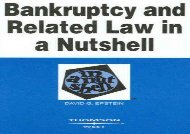 [+]The best book of the month Bankruptcy and Related Law in a Nutshell (In a Nutshell (West Publishing))  [NEWS]