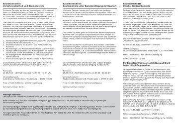 Ausbildung zum FLL- zertifizierten Baumkontrolleur 2013