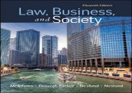 [+]The best book of the month Law, Business and Society  [DOWNLOAD]