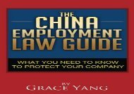 [+]The best book of the month The China Employment Law Guide: What You Need to Know to Protect Your Company  [READ]
