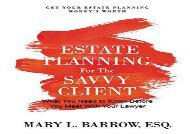 [+][PDF] TOP TREND Estate Planning for the Savvy Client: What You Need to Know Before You Meet with Your Lawyer  [FULL]