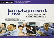 [+]The best book of the month Employment Law: The Essential HR Desk Reference [PDF]
