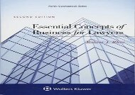 [+]The best book of the month Essential Concepts of Business for Lawyers (Aspen Coursebook)  [FULL]