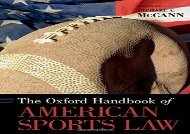 [+]The best book of the month The Oxford Handbook of American Sports Law (Oxford Handbooks)  [DOWNLOAD]