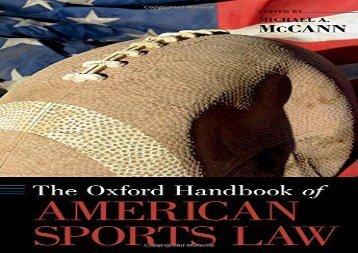 handbook on international sports law research handbooks in international law