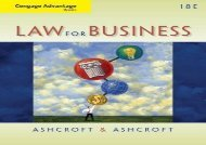 [+]The best book of the month Cengage Advantage Books: Law for Business  [FREE]