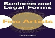 [+][PDF] TOP TREND Business and Legal Forms for Fine Artists (Business and Legal Forms Series)  [NEWS]