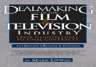 [+]The best book of the month Dealmaking in Film   Television Industry, 4rd Edition (Revised   Updated)  [FREE]