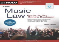 [+]The best book of the month Music Law: How to Run Your Band s Business  [READ]