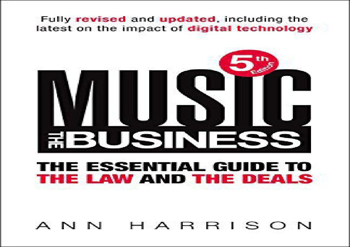Music The Business Ann Harrison Pdf