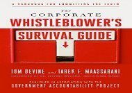 [+]The best book of the month The Corporate Whistleblower s Survival Guide: A Handbook for Committing the Truth (BK Currents)  [NEWS]