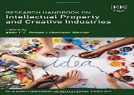 [+]The best book of the month Research Handbook on Intellectual Property and Creative Industries (Research Handbooks in Intellectual Property Series)  [READ]
