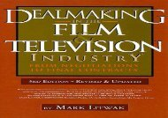[+]The best book of the month Dealmaking in the Film   Television Industry: From Negotiations to Final Contracts  [FULL]