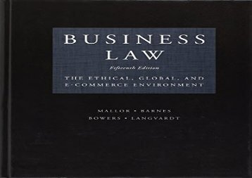 [+][PDF] TOP TREND Business Law [PDF]