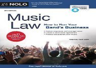 [+][PDF] TOP TREND Music Law: How to Run Your Band s Business [PDF]