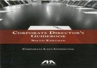 [+][PDF] TOP TREND Corporate Directors Guidebook 6th ED  [FREE]