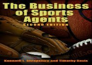 [+][PDF] TOP TREND The Business of Sports Agents  [NEWS]