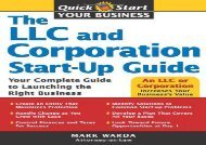 [+][PDF] TOP TREND The LLC and Corporation Start-Up Guide (Quick Start Your Business) [PDF]