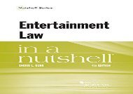 [+]The best book of the month Entertainment Law in a Nutshell (Nutshell Series)  [FREE]