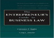 [+]The best book of the month The Entrepreneur s Guide to Business Law  [NEWS]