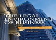 [+][PDF] TOP TREND The Legal Environment of Business  [FREE]