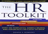 [+][PDF] TOP TREND The Hr Toolkit: An Indispensable Resource For Being A Credible Activist  [FREE]