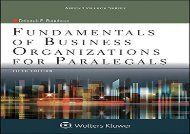 [+]The best book of the month Fundamentals of Business Organizations for Paralegals (Aspen College)  [NEWS]