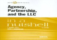 [+]The best book of the month Agency, Partnership, and the LLC in a Nutshell (Nutshell Series)  [READ]