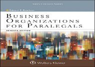 [+]The best book of the month Business Organizations for Paralegals (Aspen College)  [FREE]
