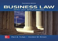 [+]The best book of the month Business Law with UCC Applications  [FREE]