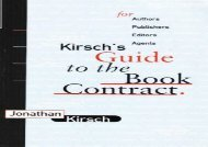[+]The best book of the month Kirch s Guide to the Book Contract  [READ]