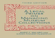 [+]The best book of the month A Legal Primer on Managing Museum Collections [PDF]