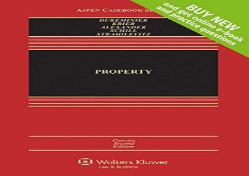 [+][PDF] TOP TREND Property: Concise Edition (Aspen Casebook)  [NEWS]