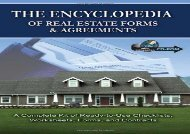 [+]The best book of the month The Encyclopedia of Real Estate Forms and Agreements: A Complete Kit of Ready-to-Use Checklists, Worksheets, Forms and Contracts  [FREE]