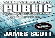 [+][PDF] TOP TREND Taking Your Company Public: a Corporate Strategies Manual  [DOWNLOAD]